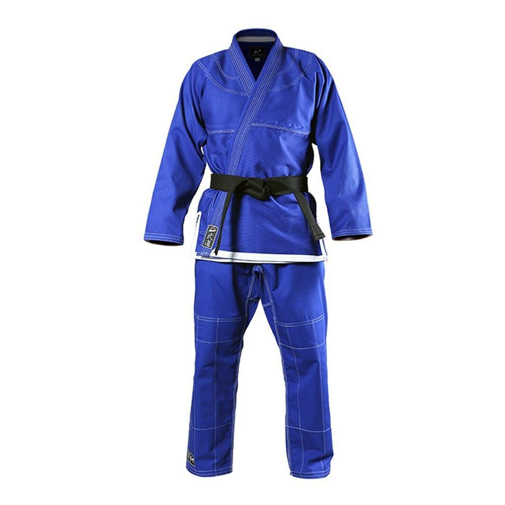 DYNAMICS JIU JITSU UNIFORM Blue 450 Pearl Weave BJJ gi - BlackBeltShop