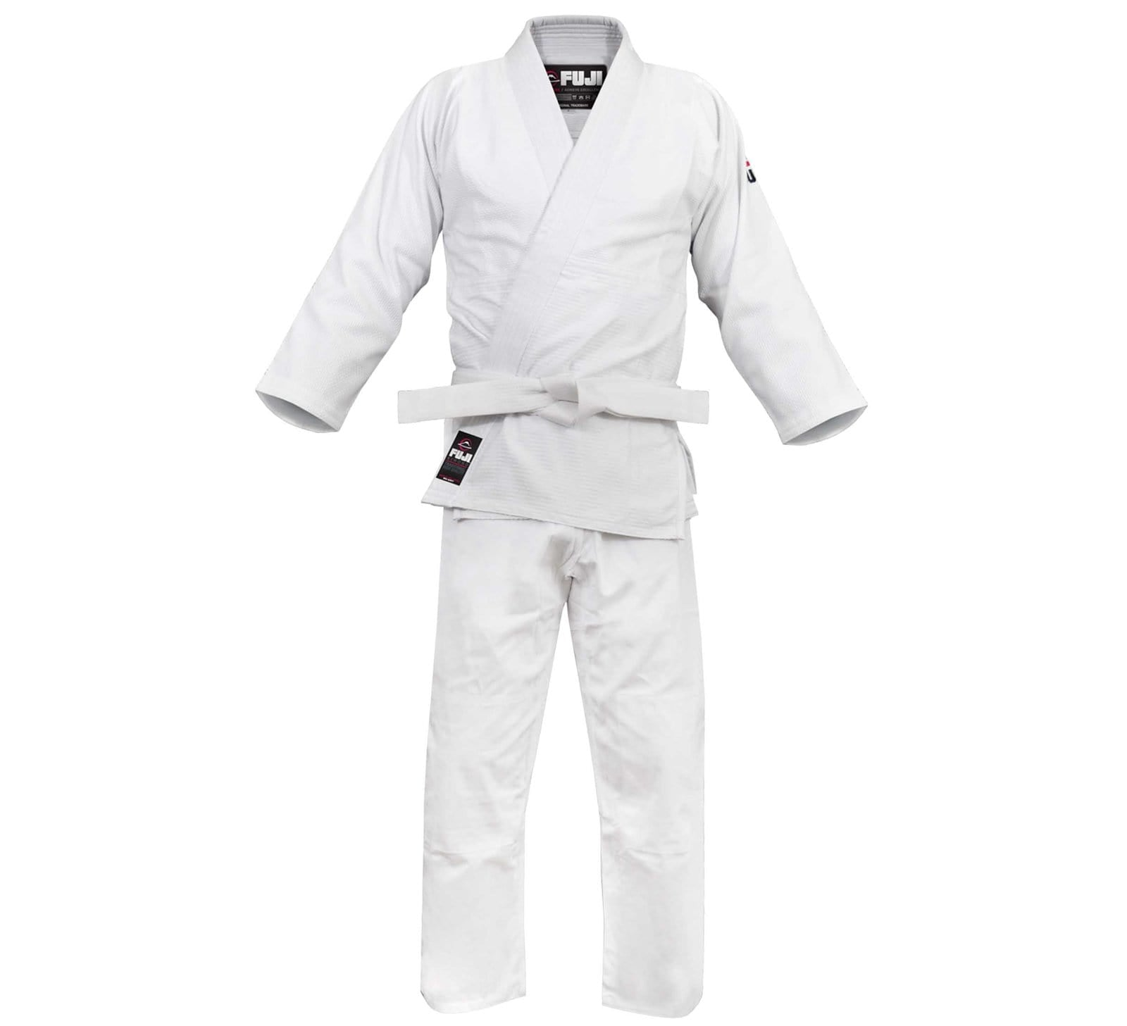 Fuji All Purpose Single Weave Judo Gi - White FUJI-FW - BlackBeltShop
