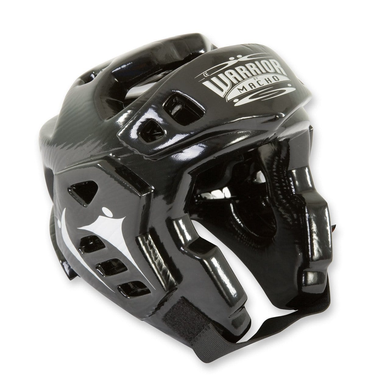 black Mach Warrior Karate Sparring Head Gear