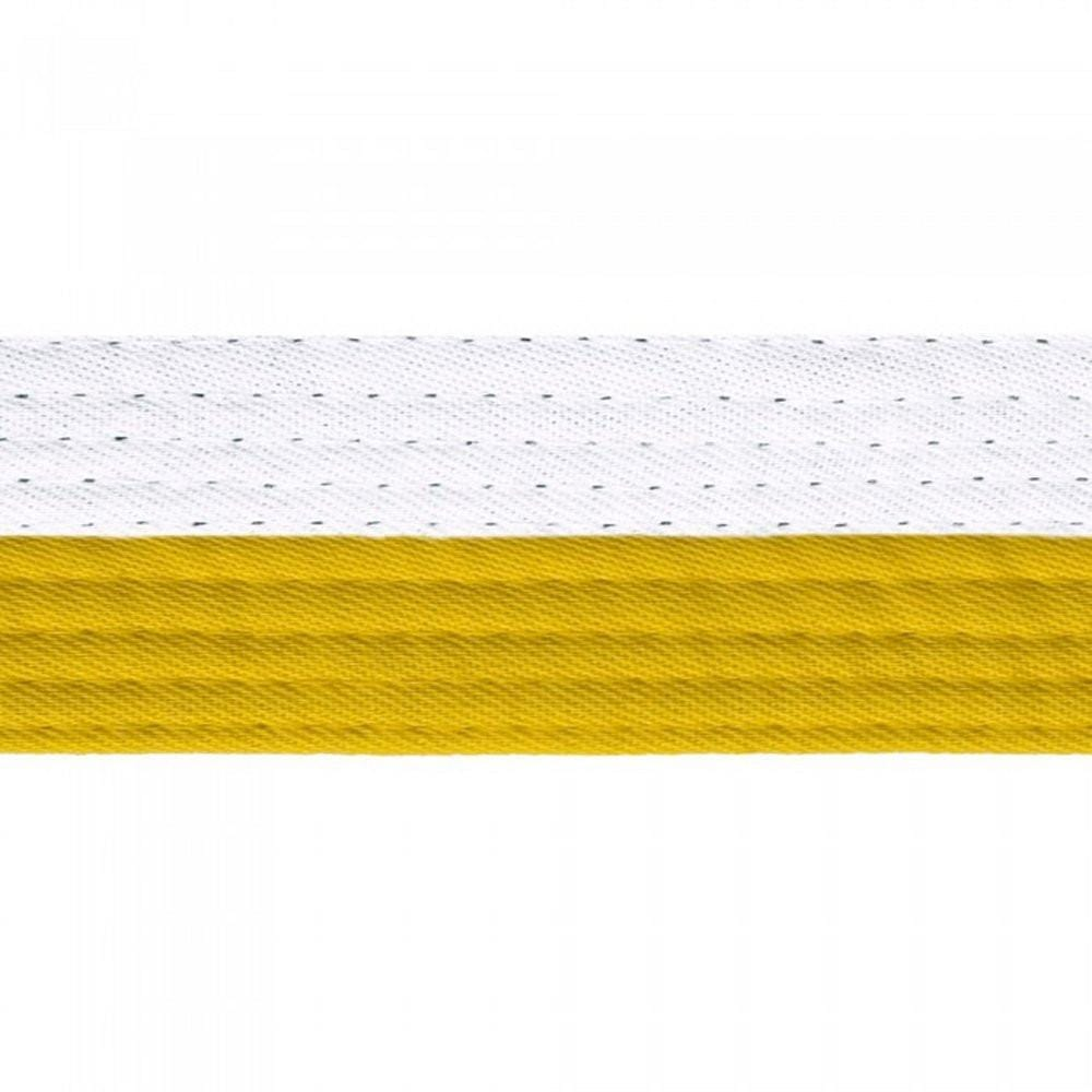 yellow and white belt