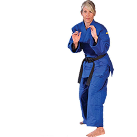 Tiger Claw Blue Double Weave Traditional Uniform - BlackBeltShop