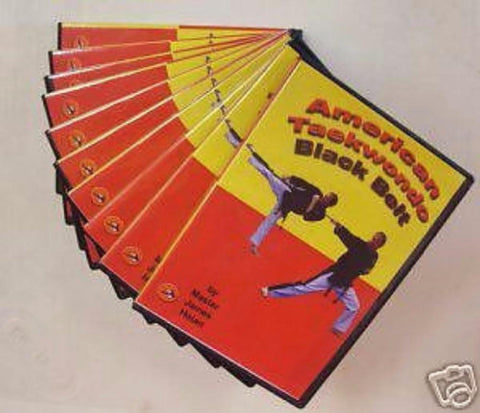 American Taekwondo Training 10 DVD set Karate dvds - BlackBeltShop
