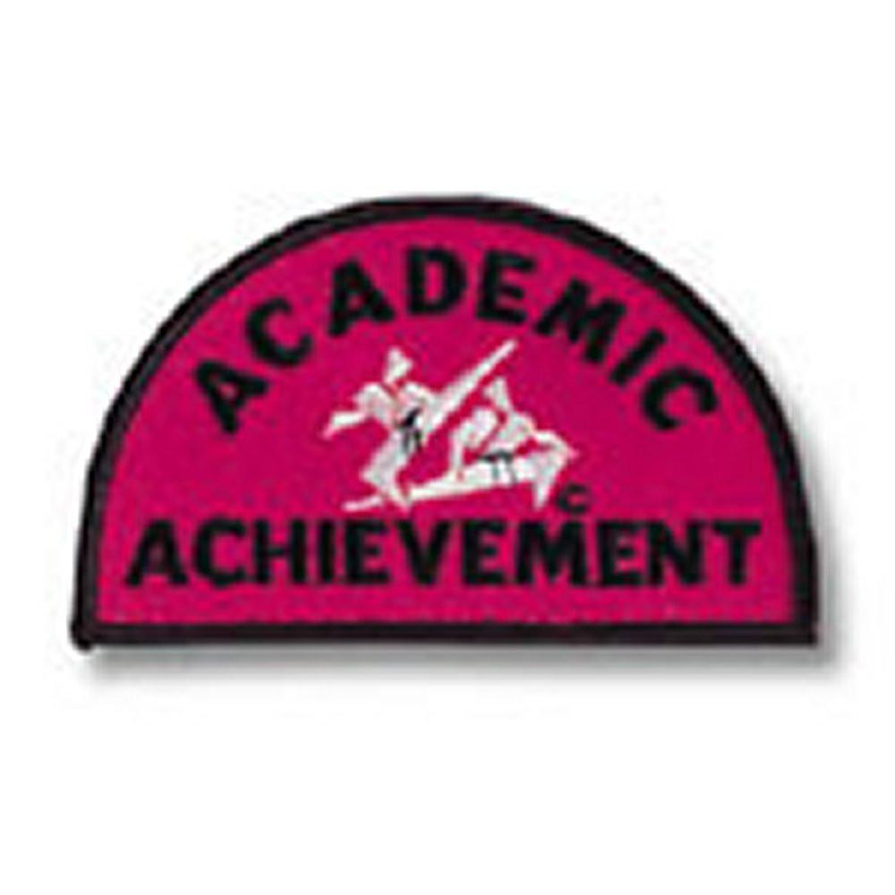 Academic Achievement Patch c08-p08 - BlackBeltShop