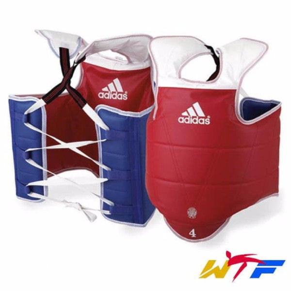 Adidas Solid Reversible Chest Guard TaeKwonDo WTF