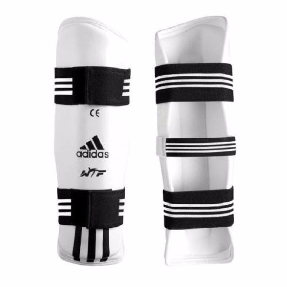 Adidas WTF Shin  Protector  Taekwondo TKD pads ALL Sizes - BlackBeltShop