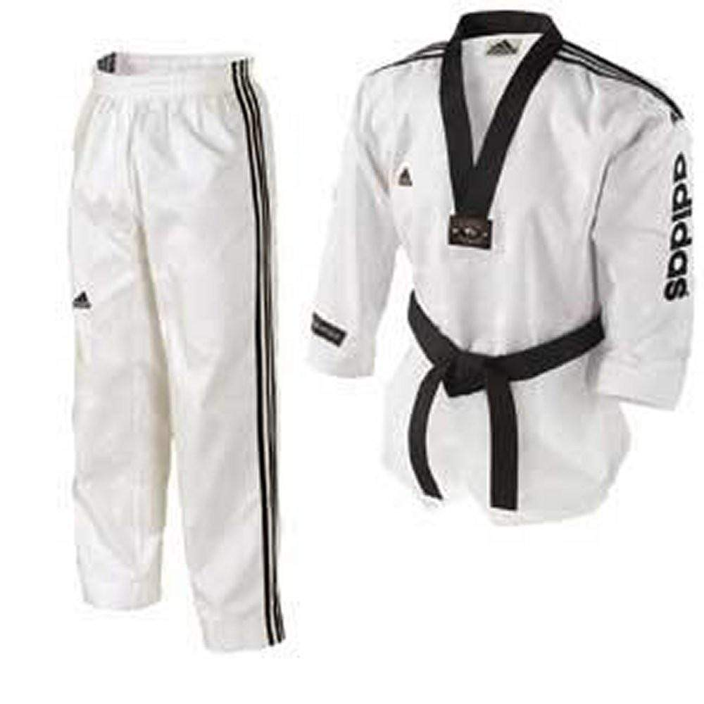ADIDAS SUPER GRAND MASTER TAEKWONDO UNIFORM - BlackBeltShop