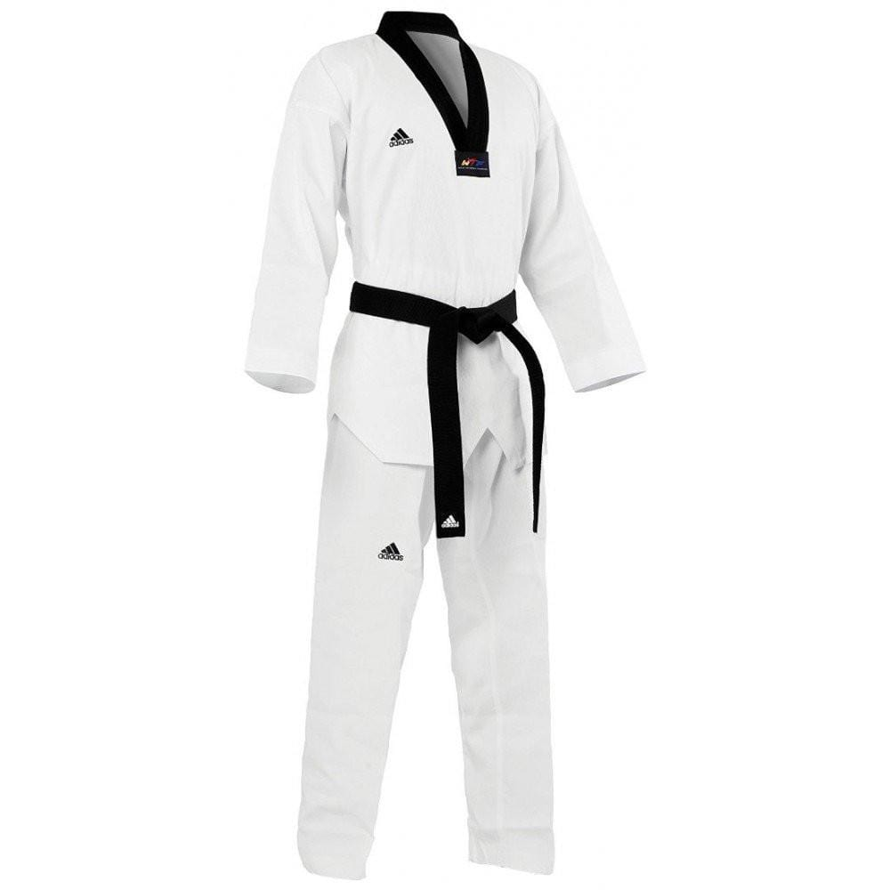 black ADI Start Taekwando Uniform by Adidas