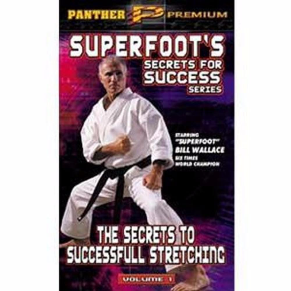 Bill Wallace Superfoots Secrets for Success Series Titles  dvds - BlackBeltShop