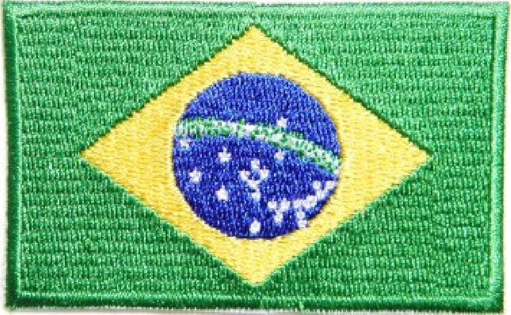Brazilian Flag Patch 3472