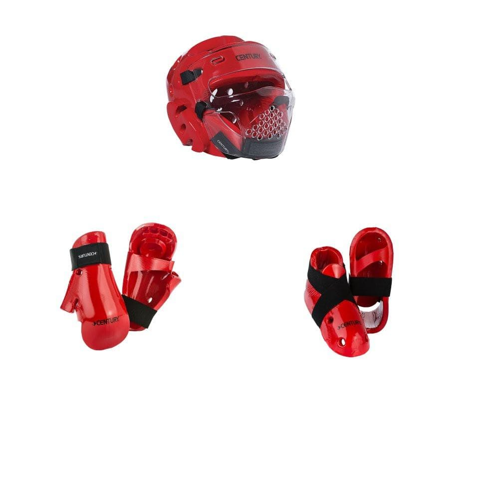 Century Karate Sparring Gear Combo Set with EVOLUTION face shield