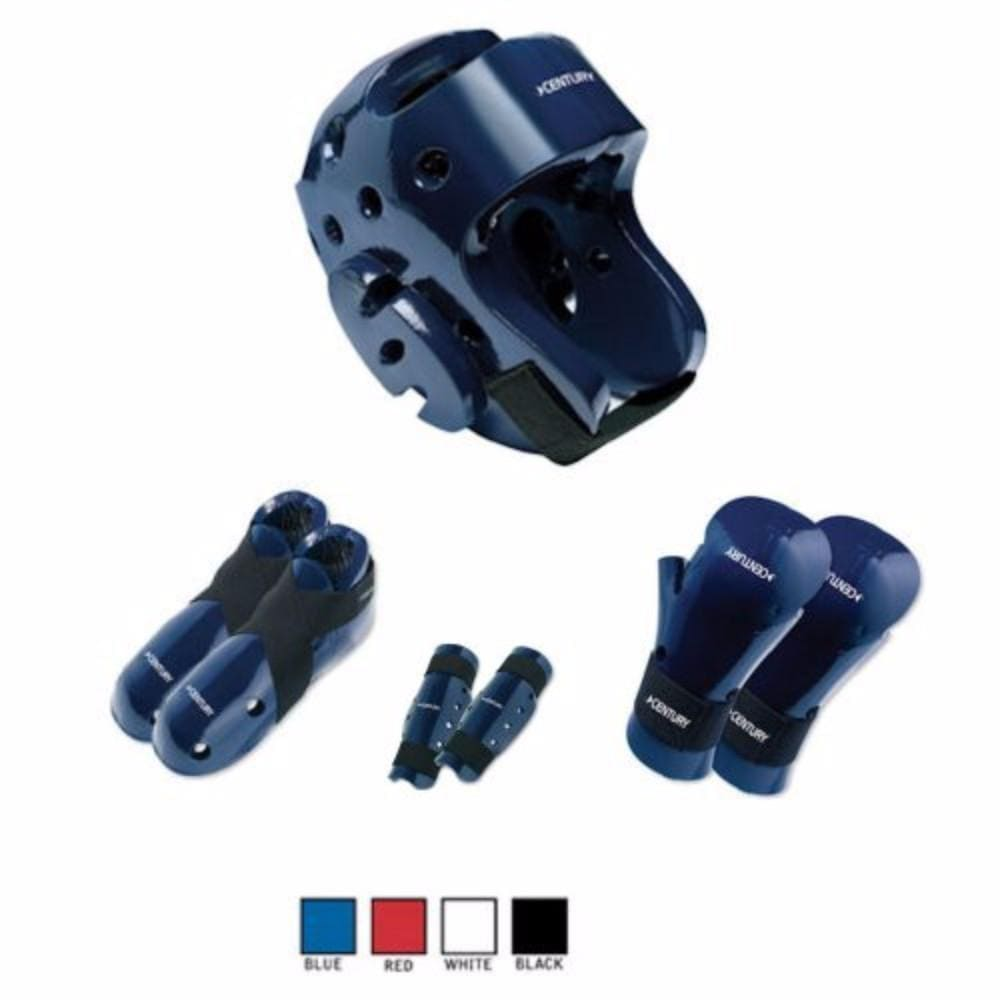 Century Karate Sparring Gear Combo Set with Shin Guards - BlackBeltShop