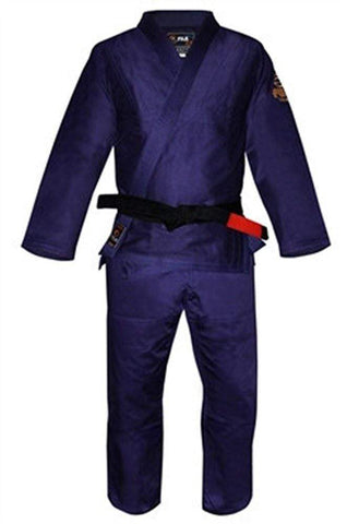 Fuji BJJ Mid-Weight Uniform - Navy Blue - BlackBeltShop