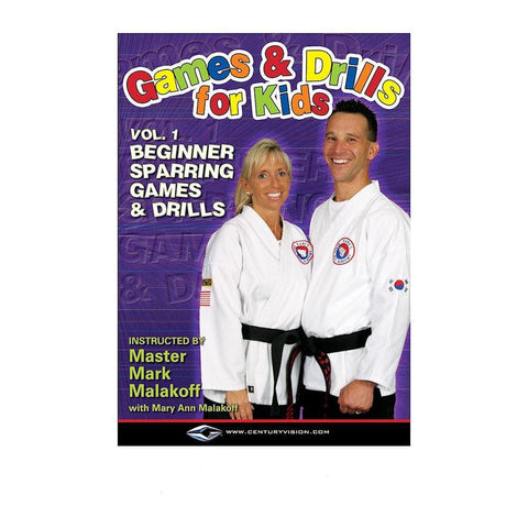 Mark and Mary Ann Malakoff-Games and Drills for Kids DVDs - BlackBeltShop