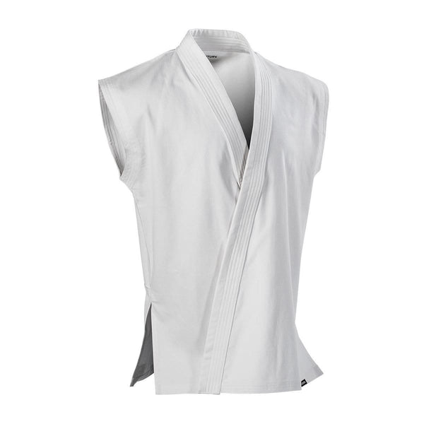 8 Oz Middleweight Brushed Cotton Sleeveless Traditional Jacket