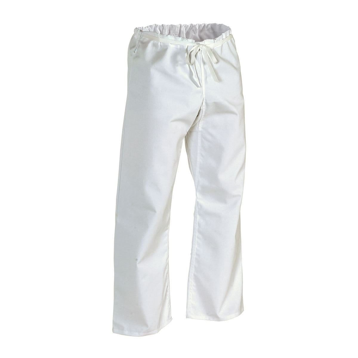 Middleweight Traditional Drawstring Pant White