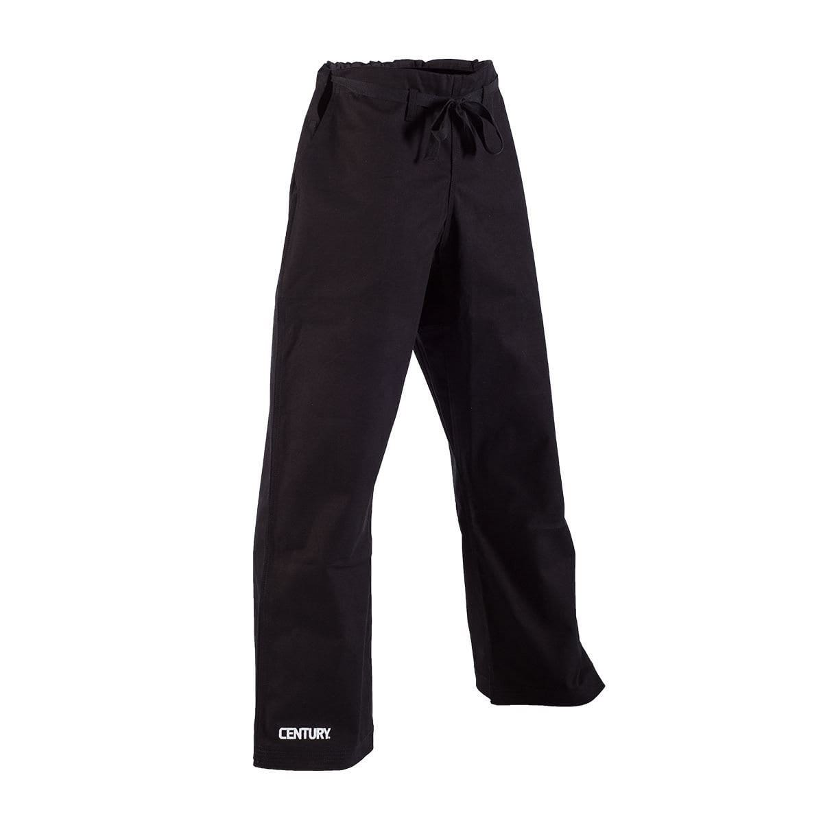 Century 10 oz. Middleweight Brushed Cotton Pants with Pockets - Traditional Waist - BlackBeltShop