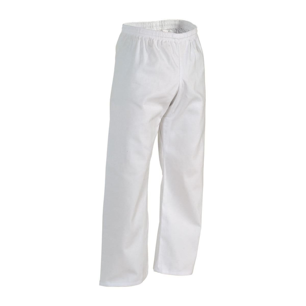 white Century Middleweight Student Elastic Waist  PANTS