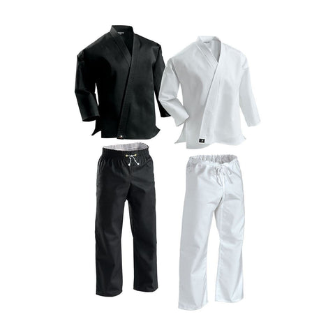 Century Martial Arts Karate 8 oz Uniforms  Black or white. All Sizes 043 - BlackBeltShop