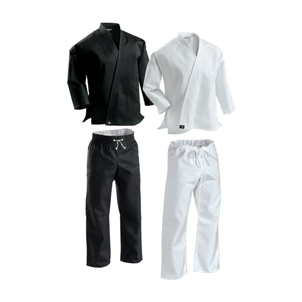 Century Complete Middleweight Elastic Waist Poly-Cotton Uniform Karate Martial Arts  c043