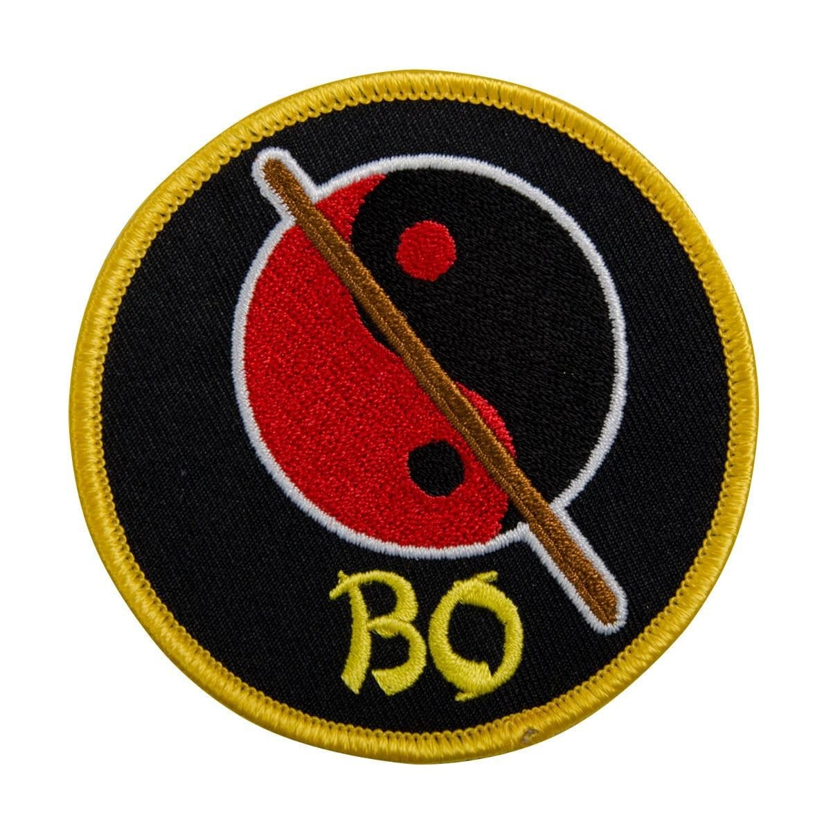 Bo-Yin Yang Patch c0821-bo - BlackBeltShop
