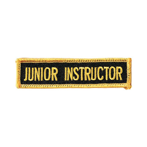 Junior Leader Patch c082JIN - BlackBeltShop
