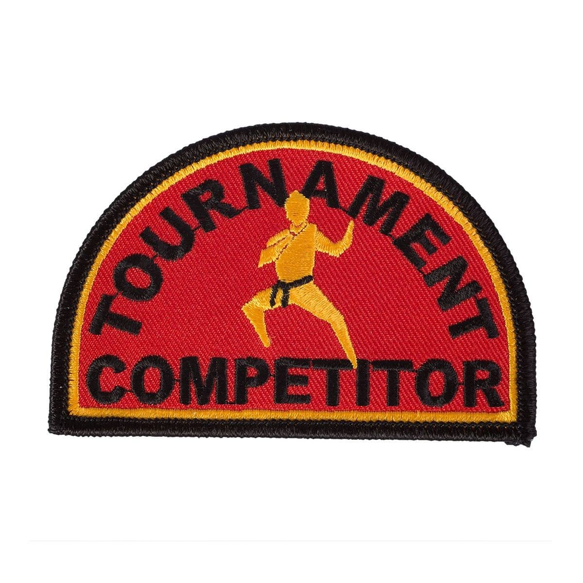 Tournament Competitor Patch c0837 - BlackBeltShop