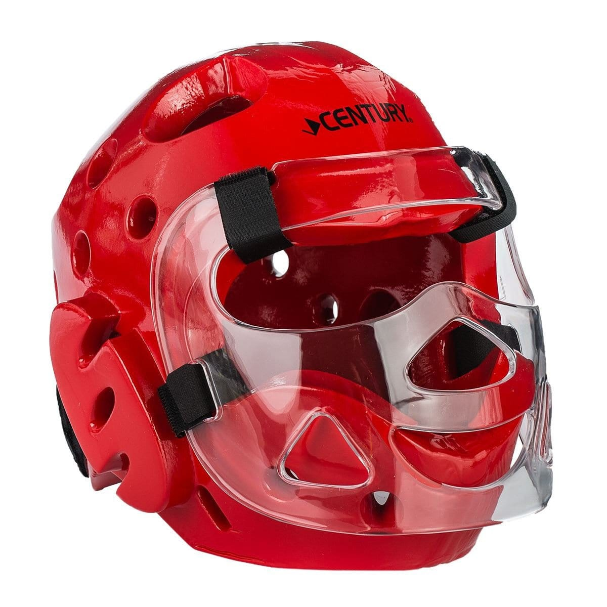 red Century Full Head Gear with Face shield Mask