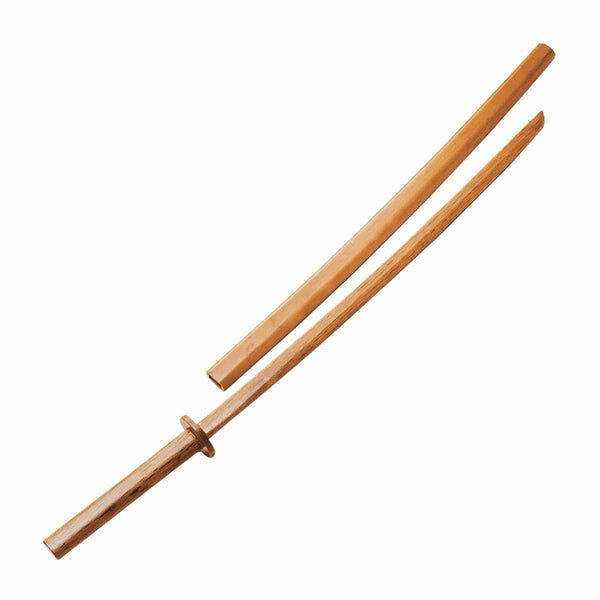 Bokken With Wood Scabbard