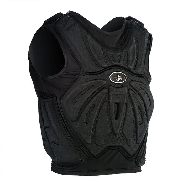 black Martial Armor Vest