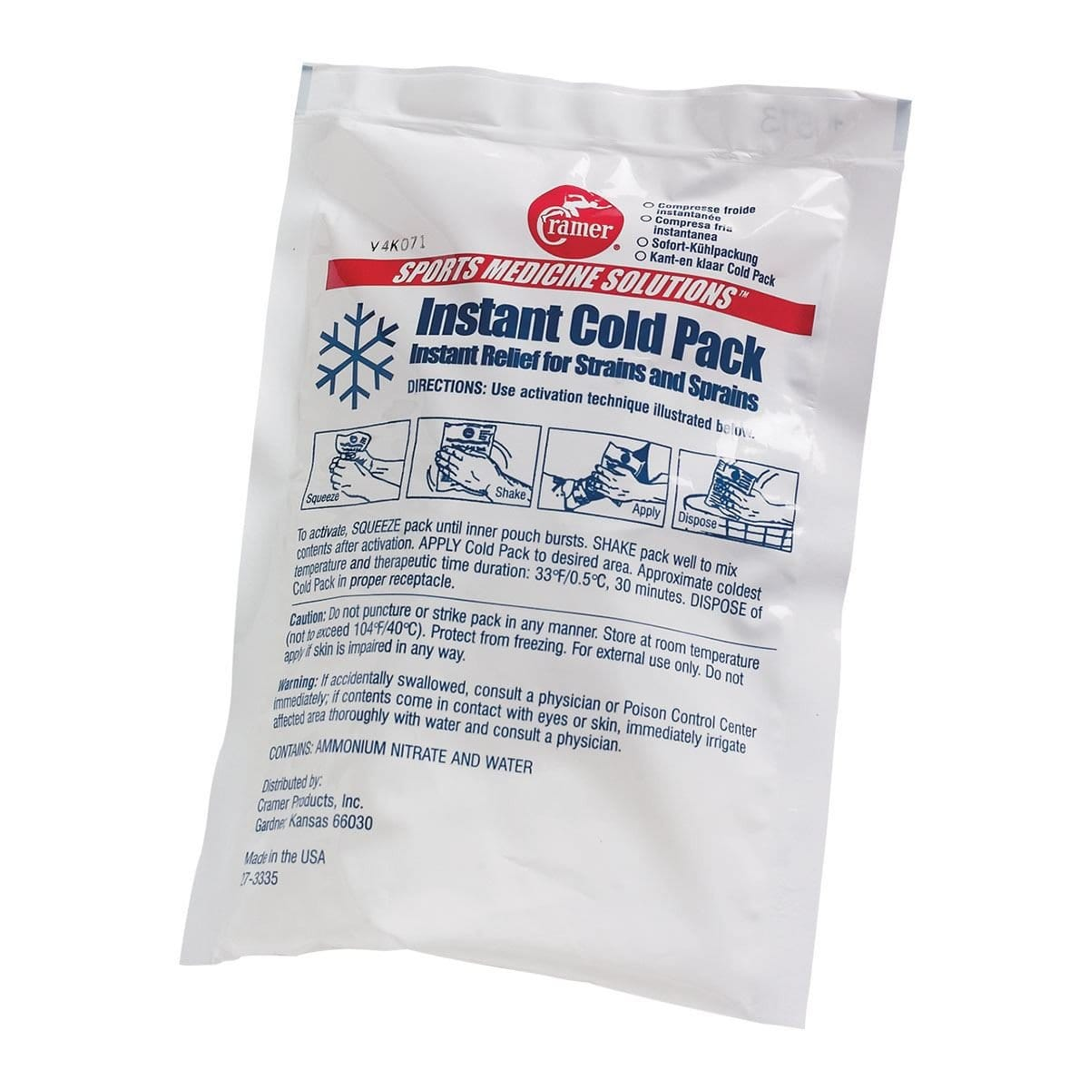 CENTURY  Instant Cold Pack c1573 - BlackBeltShop