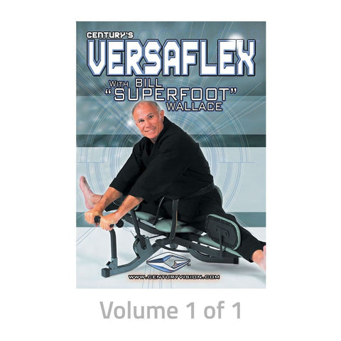Bill Wallace VersaFlex Stretching DVD 189140D - BlackBeltShop