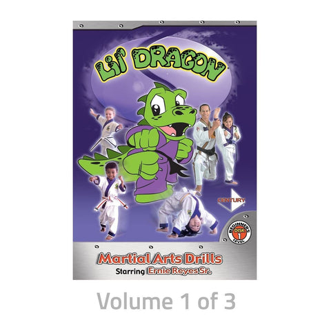 Ernie Reyes Lil Dragon DVDs - BlackBeltShop