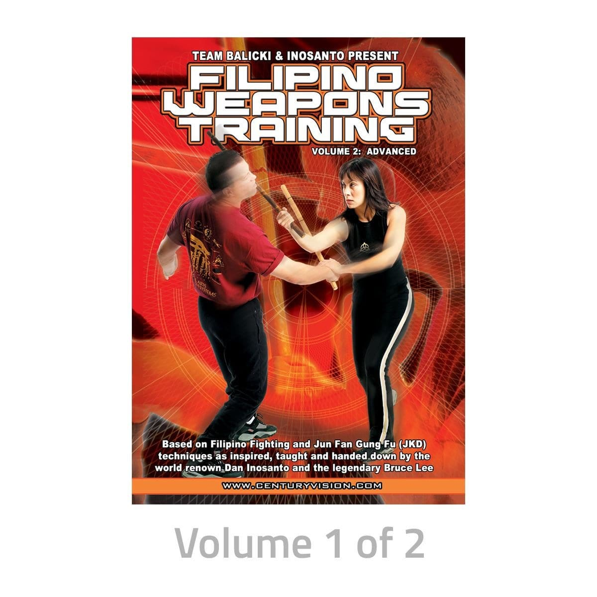 Filipino Weapons Training DVDs 189252D - BlackBeltShop