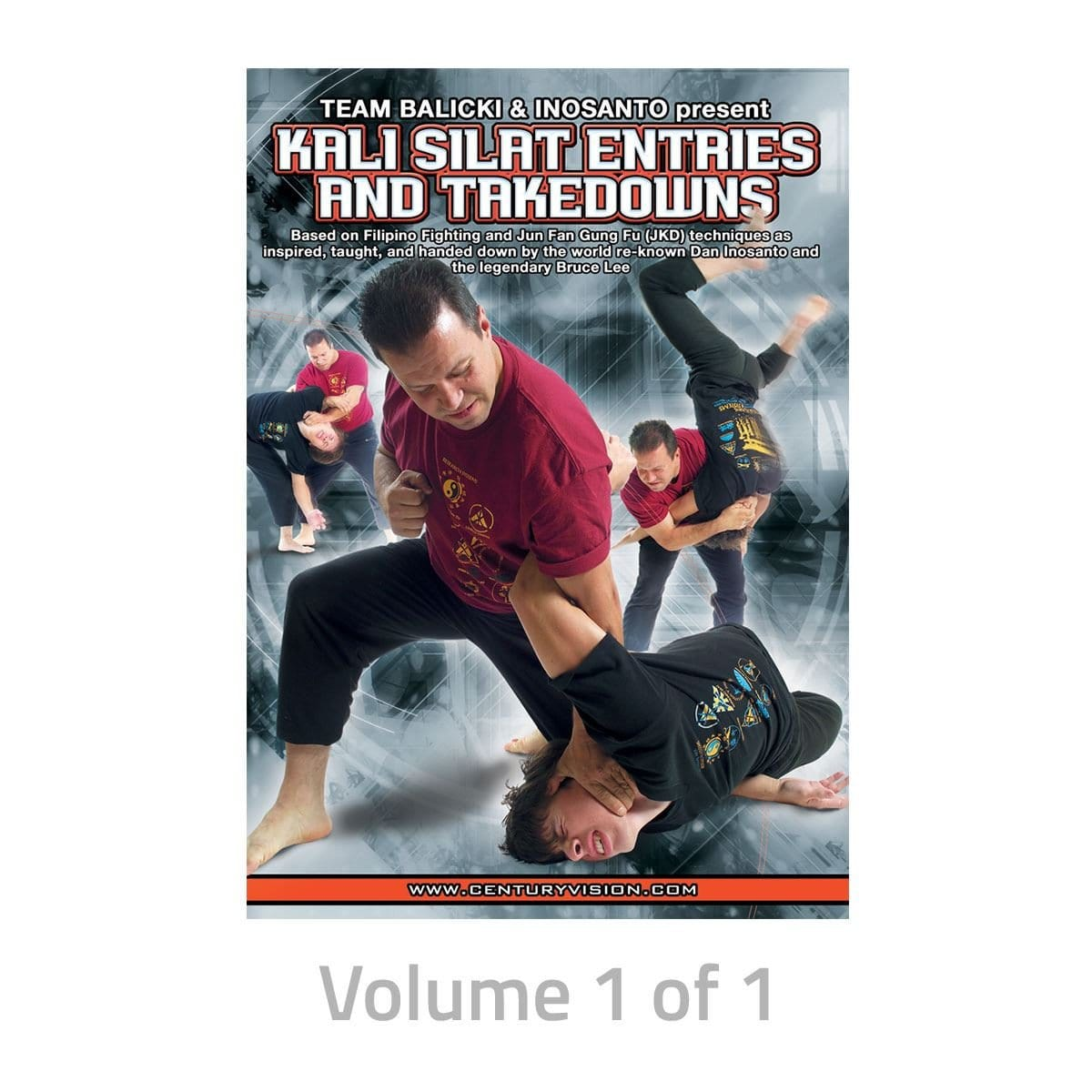 Kali Silat Entries and Takedowns Training DVDs 189254D - BlackBeltShop