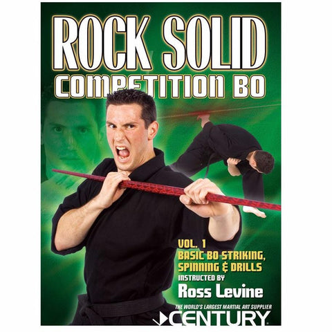 Ross Levine Rock Solid: Bo Competition DVD - BlackBeltShop