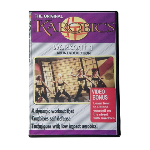Karobics -Martial Arts Aerobics training and workout DVD18988D - BlackBeltShop