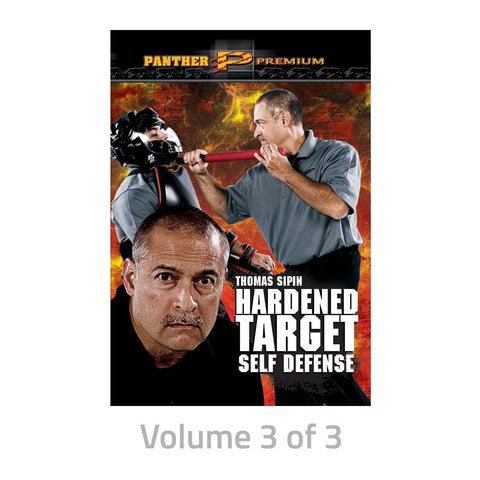 Thomas Sipin: Hardened Target Self Defense dvds SIPIN1D - BlackBeltShop