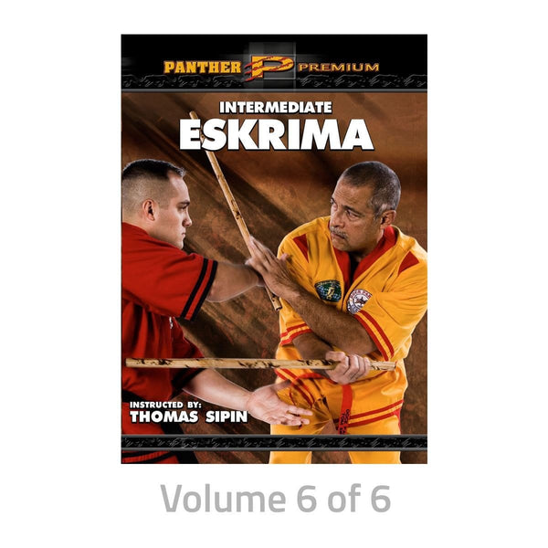 Thomas Sipin: Intermediate Eskrima Training DVDs  SIPIN3D