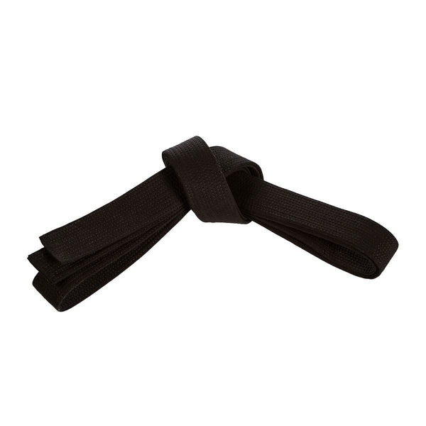 Century Double Wrap Elite 2 inch Black Belt - E1