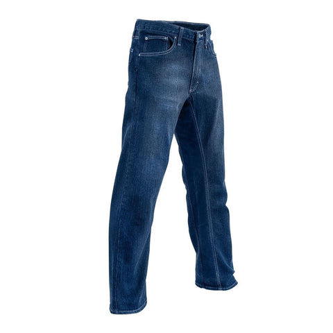front Martial Arts Kicking Jeans