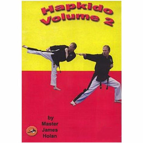 Hapkido Training DVD  Video karate by James Holan vol 2 - BlackBeltShop