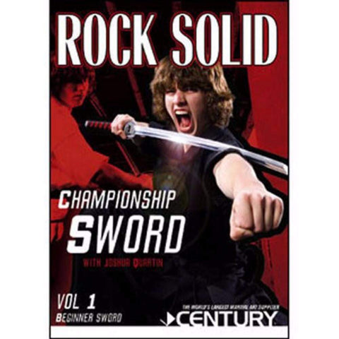 Joshua Quartin Championship Sword DVD - BlackBeltShop