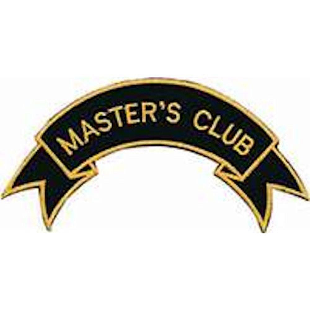 Master's Club Patch b2196 - BlackBeltShop