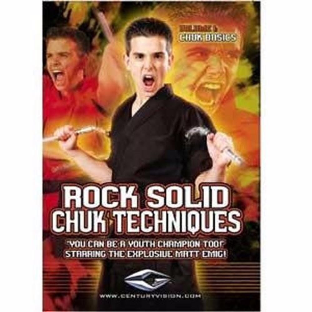 Matt Emig Rock Solid Chuk Techniques Series Titles  by Century - BlackBeltShop
