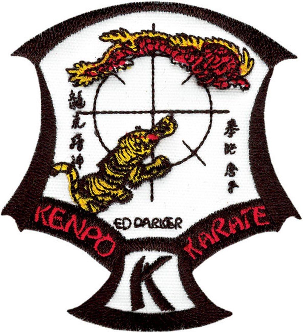 IKKA Crest Patch LARGE Kenpo Karate Patch - BlackBeltShop