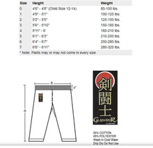 Load image into Gallery viewer, ProForce 14oz Diamond Kata Gi Traditional Drawstring - 55-45 Blend - White - BlackBeltShop