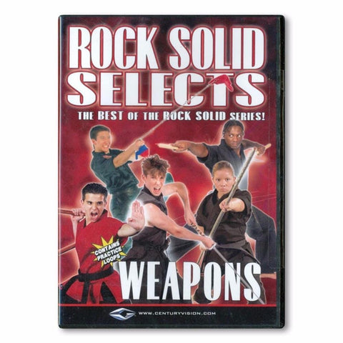Rock Solid Selects: Weapons DVD - BlackBeltShop