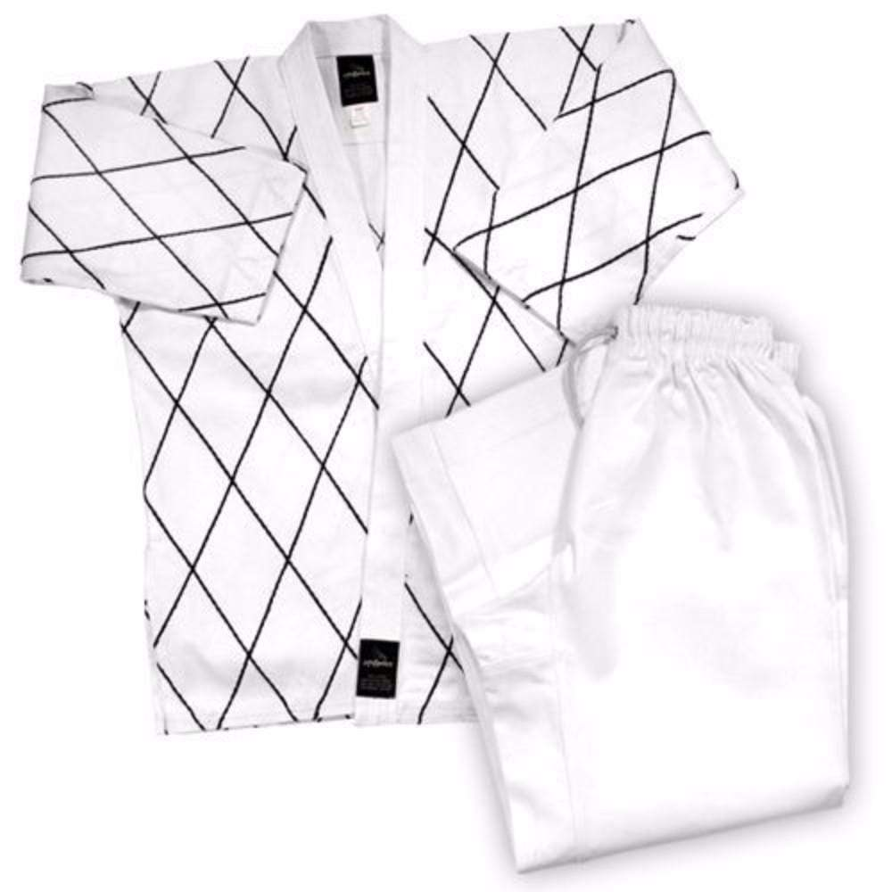 Dynamics 8 oz Hapkido Uniform - White - BlackBeltShop