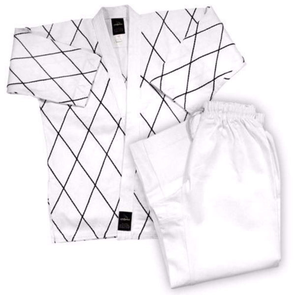Dynamics 8 oz Hapkido Uniform - White