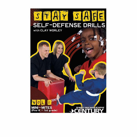 Stay Safe Self-Defense with Clay Worley for Kids DVD's - BlackBeltShop